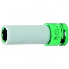 """Galvutė ilga plonasienė smūginė su plast. apsauga 1/2"""", 15 mm"""