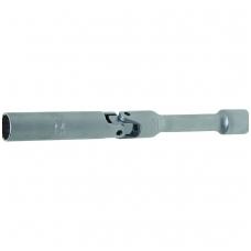 """Galvutė ilga šarnyrinė žvakėms 14 mm, 3/8"""", 12-kampė 180 mm ilgio"""