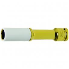 """Galvutė ilga smūginė plonasienė 1/2"""", 150mm 19 mm"""