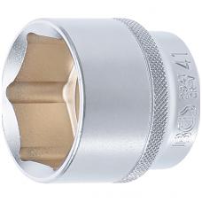 """Galvutė šešiakampė trumpa - 12.5mm. (1/2"""") 41mm."""