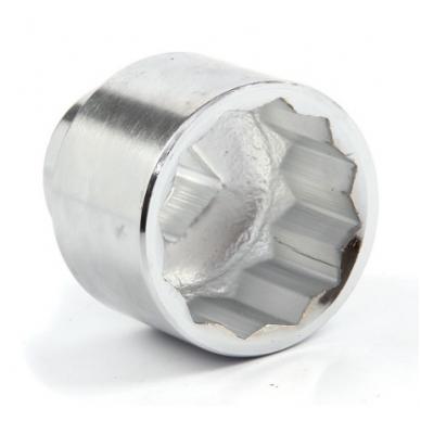 """Galvutė 12-kampė, 1"""", 65 mm"""