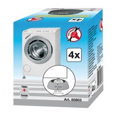 Antivibracinės skalbimo mašinoms kojelės (4vnt) 2