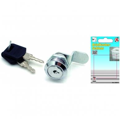 Pašto dėžutės fiksavimo cilindras | 18 x 20 mm