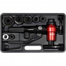 Hidraulinis skylių darymo įrankis 22-60mm. 360 laipsn.