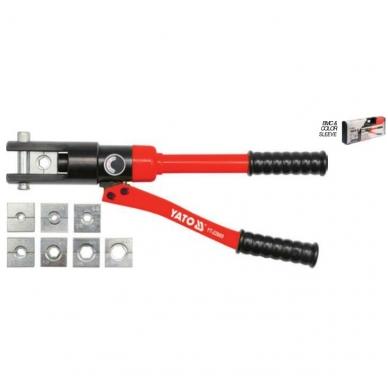 Hidraulinis 20 t kraštų užspaudimo įrankis 16-300mm² 3