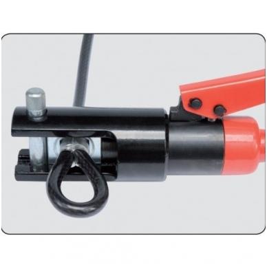 Hidraulinis 8 t kraštų užspaudimo įrankis 10-120mm ² 2