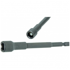 "Ilga magnetinė galvutė 1/4"" (6.3 mm) 9x100 mm"