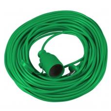 Ilgintuvas 10m 2x1mm, žalias