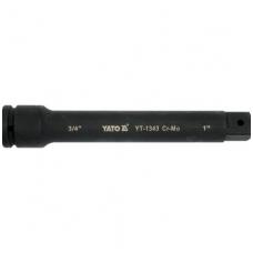 "Ilgintuvas - adapteris smūginis 3/4""(F)x1""(M); 250 mm"