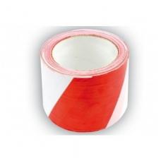 Avarinė juosta balta-raudona : 75MMx100M