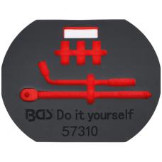 Įrankių dėklas  tuščias skirtas BGS 57310