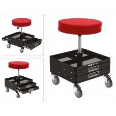 Įrankių kėdutė su 3 stalčiais