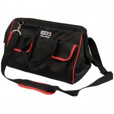 Įrankių krepšys su 16 kišenių