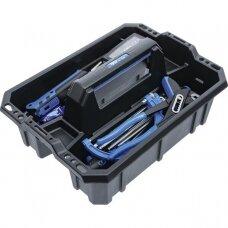 Įrankių nešiojimo dėklas sustiprintas plastikas įsk,. įrankių asortimentas 66vnt.