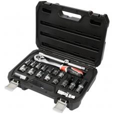 """Įrankių rinkinys 1/2"""", 10-24 mm, 20 vnt."""