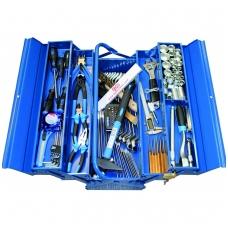 Įrankių rinkinys su metaline dėže 137 vnt