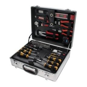 Įrankių komplektas su aliuminiu lagaminu - 129 vnt.