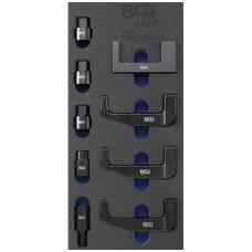 Iškalimo auselių ir adapterių rinkinys dyzeliniams purkštukams