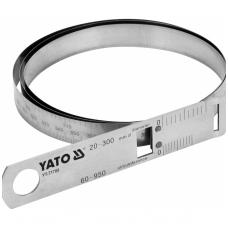 Juostinis matavimo įrankis, diametrui ir perimetrui, maks.60 perimetras 950mm.