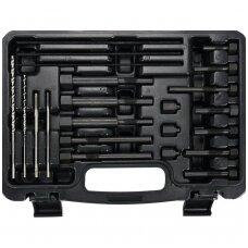 Kaitinimo žvakių elektrodų šalinimo įrankių rinkinys M8 / M10 22vnt.