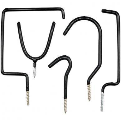 Kablių tvirtinamų ant lubų ir sienos, rinkinys 5 vnt.
