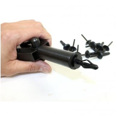 Kniediklis plastikinėms kniedėms su rinkiniu  41 vnt. 3