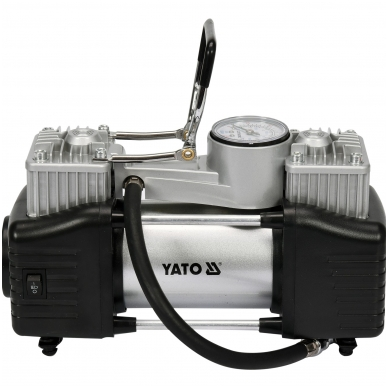 Kompresorius automobilinis-2 cilindrai- Led lempa - 12V - 250W 2