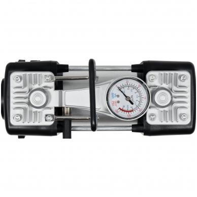 Kompresorius automobilinis-2 cilindrai- Led lempa - 12V - 250W 4