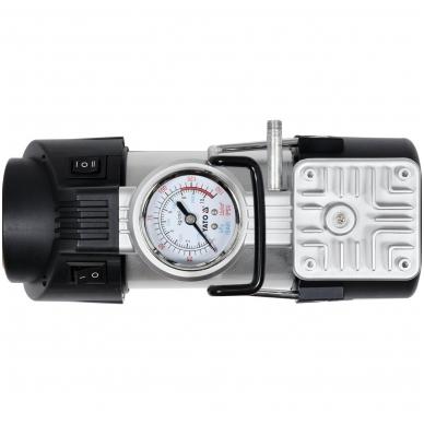 Kompresorius automobilinis - su Led lempa - 12V - 180W 4
