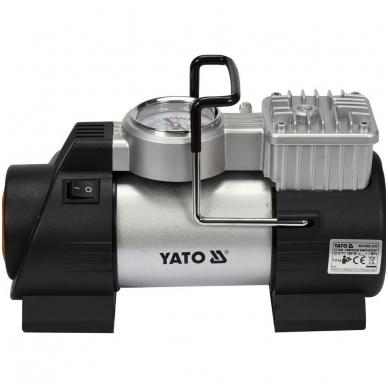 Kompresorius automobilinis - su Led lempa - 12V - 180W