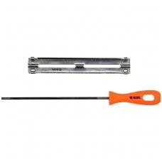 Kreipiančioji - gidas grandininiams pjūklams su dilde 4.5mm.