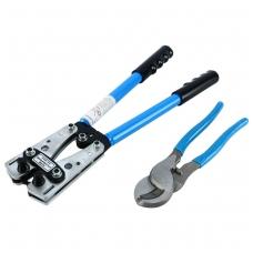 Laidų presavimo ir žirklių kabeliui komplektas -2vnt.