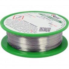 Lydmetalis be švino Ø 0.5mm.100g.