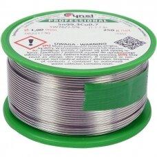 Lydmetalis be švino Ø 1.0mm. 250g.