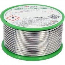 Lydmetalis be švino Ø 2.0mm. 250g.