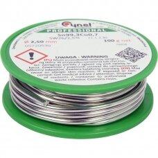 Lydmetalis be švino Ø 2.5mm.100g.