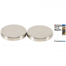 Magnetų rinkinys ypač stiprūs  Ø 18 mm  2 vnt.