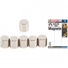 Magnetų rinkinys   ypač stiprūs  Ø 9,5 mm   6 vnt.