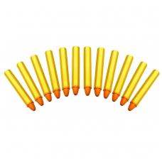 Markeriai padangų žymėjimui geltoni 12vnt.