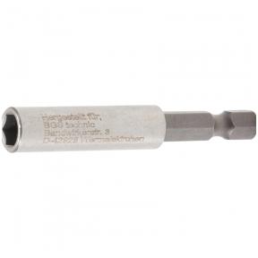 Magnetinis antgalių laikiklis, ypač stiprus išorinis šešiakampis 6,3mm.  60mm.
