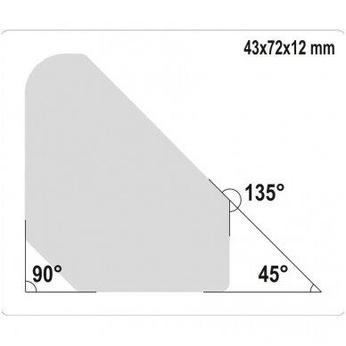 Magnetinių laikiklių rinkinys 45°- 90° - 135° 4vnt. 2