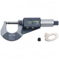 Mikrometras skaitmeninis 0-25mm