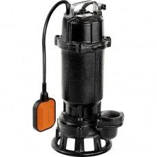 Panardinamas siurblys su plūde ir malimo sistema 450W