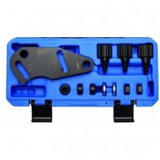 Paskirstymo veleno fiksavimo įrankis Renault automobiliams 1.8 ir 2.0 16V
