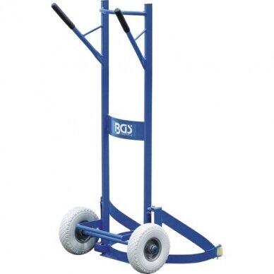 Padangų/ratų transportavimo vežimėlis 200kg. 9