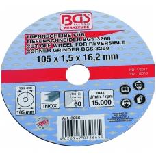 Atpjovimo diskas 105x1.5x16.2