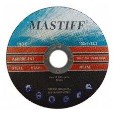 Pjovimo diskas metalui-125x1.0x22,23
