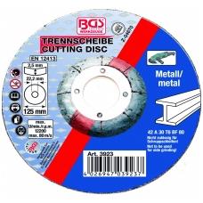 Pjovimo diskas metalui 125 x 2.5 mm, tipas 42