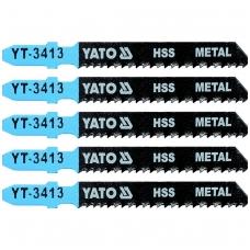 Pjūkliukai siaurapjūkliui 5vnt, 12 TPI / 2mm (metalui)
