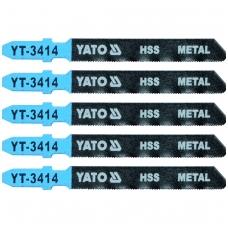 Pjūkliukai siaurapjūkliui 5vnt, 32TPI / 0.7mm (metalui)